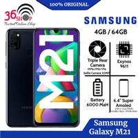 Samsung Galaxy M21 Ram 4GB/64GB Garansi Sein Resmi - Hitam