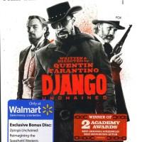 Django Unchained (Blu-ray + DVD + UltraViolet + Bonus Disc) (Walmart)