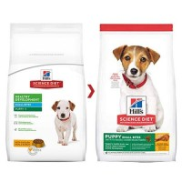 Science Diet Small Bites Puppy Chicken Repack 1kg/Makanan Anak Anjing