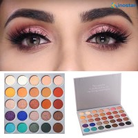 MORPHE 35 Color Eye Shadow Palette Pearlescent Matte Eyeshadow