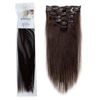Emosa Luxury Clip in Hair Extensions Full Head 100% Real Human Hair(#2