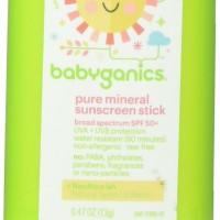 Babyganics Pure Mineral Sunscreen Stick - SPF 50+ - Fragrance Free - 0