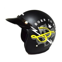 Honda Btr Black Helmet SIZE M 87100HFBTRBLM