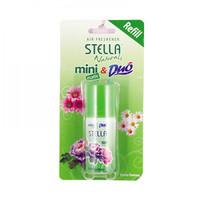 STELLA NATURALS MINI MATIC REFILL GREEN FANTASY 40mL (PENGHARUM)