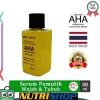 Serum Pemutih Wajah dan Tubuh Mimi White AHA Body Original Thailand