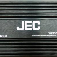 Power 4 channel JEC JP 4650