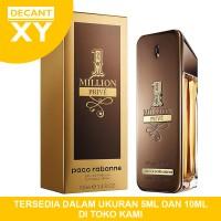Decant 10ml Parfum Paco R 1 Million Prive One Million