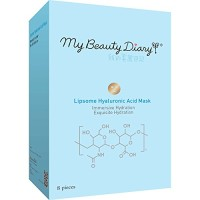 My Beauty Diary Facial Mask, Liposome Hyaluronic Acid, 8 Count