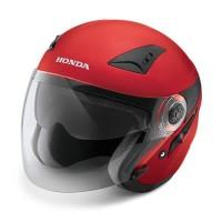 Honda Luxury Helmet Red SIZE M 87100LXREDM