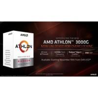 AMD Athlon 3000G 3.5Ghz Cache 4MB 35W Socket AM4 [BOX] Grs 3Thn
