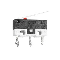 1A/125VAC 3Pin Micro Limit Endstop Switch with 1m Wire for Tech Inov