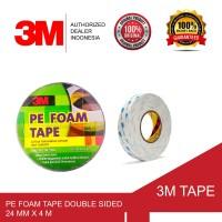 3M Pe Foam Tape Double Sided , 24 mm x 4 m