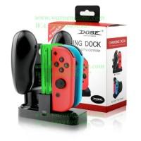 Ready Dobe Nintendo Switch Charging Dock Joy-Con + Pro Controller /