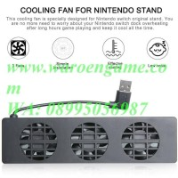 Ready Dobe Usb Cooling Fan For Nintendo Switch Original Dock (3 Fan)