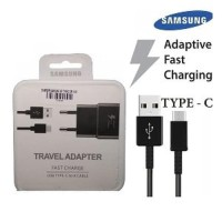 CHARGER SAMSUNG 2A KABEL USB TYPE C ADAPTIVE FAST CHARGING ORI 100%