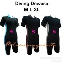 Big Sale Baju Renang Diving Dewasa Unisex Cowok Cewek Wanita Laki -