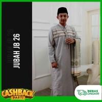 JUBAH GAMIS PRIA DEWASA LENGAN PANJANG /BUSANA MUSLIM / KHALIFA JB 26