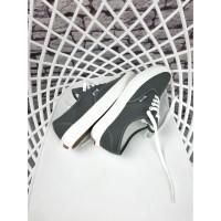 Sepatu Pria Vans Authentic OG Grey Ivory Premium Original
