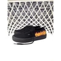 Sepatu Pria Vans Authentic THRASHER BLACK Premium Original