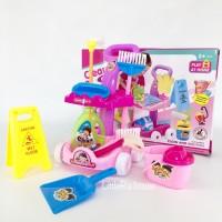 Mainan Bersih Bersih Rumah | Mainan Edukasi Anak | Mainan Cleaning Set