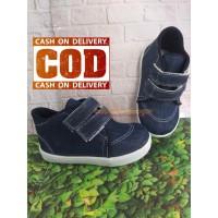 sepatu balita denim keren/sepatu anak trendy/azkharshoes