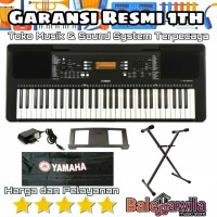 Paket KEYBOARF YAMAHA PSR E363/E 363 + Stand keyboard +cover kb