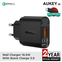 Aukey Charger 1 Port 18W QC 3.0 - 500001