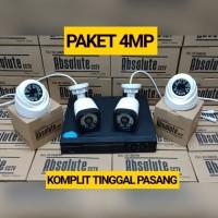 PAKET CCTV 8CH ABSOLUTE 4BH CCTV 4MP FULL HD HDD 1TB KOMPLIT