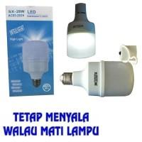 Lampu Led Emergency SX 28watt 28 W Pegang Sentuh Tangan Nyala | Bohlam