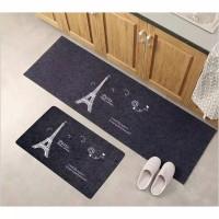 Keset Mat Trendy Set Isi 2 Pcs / Keset Rumah Tangga Kamar Anti Slip