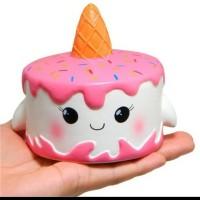 squishy unicorn cake murah