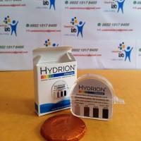 BEST SELLER Hydrion CM 240 Chlorine test paper 10-200 ppm / klorin tes