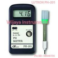 BEST SELLER LUTRON PH-201 + ELECTRODE PE-03 PH METER DIGITAL
