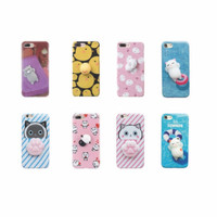 Squishy Case - soft case - full print - IPHONE 7 7+ 8 8+ OPPO F3