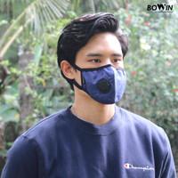 Bowin Masker Auto Urban - Filter Karbon N95 CV (Masker Anti Polusi)