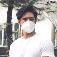 Bowin Masker KN95 - White(Masker Kesehatan/Masker Polusi/Masker Motor)