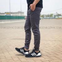Chino pants grey- celana chinos warna abu
