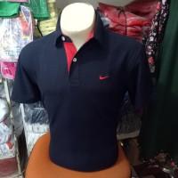 Kaos kerah hitam / nike polo shirt