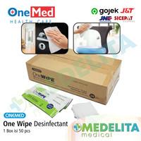 Tisu Alkohol / Tisu Disinfektan / Onewipe ( Box ) - ONEMED