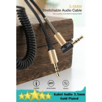 Kabel Audio AUX Gold Plated Per 3.5mm Male to Male - 1.5 Meter