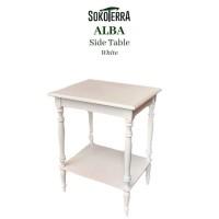 DISKON Meja Tamu Kecil ALBA Side Table dari Sokoterra