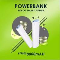 POWER BANK ROBOT RT9000 8800MAH 1 USB STICK ORIGINAL SLIM POWERBANK PB