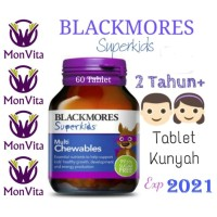 Blackmores Superkids Multi Chewables isi 60 Chewable Tablet