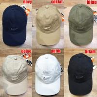 Topi Nike Logo import premium quality / topi pria / wanita