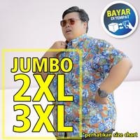 New Kemeja Pria jumbo LD XXL 112 cm XXXL 116 cm - 3XL