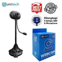Digital External Unitech webcam Stand with Mic - pc camera usb