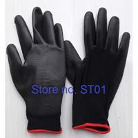 Sarung tangan palm fit palmfit karet pu polyster gloves kerja safety