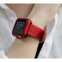 Strap Apple Watch iWatch 2 3 monogram Gucci Leather tali jam 40mm 42mm
