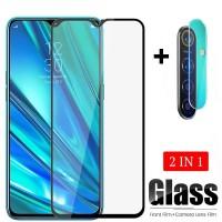 Tempered Glass Realme 5 pro Free Lensa Camera