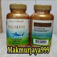 Squalene Nature Health 1000mg isi 100 sofgel..Squalen Natures health